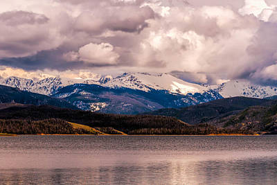 Photograph - Gray Skies Over Lake Granby by Tom Potter