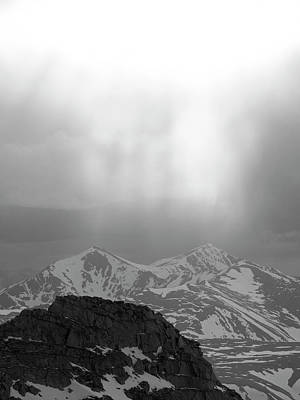 Photograph - Grays And Torreys From Evans by Aaron Spong
