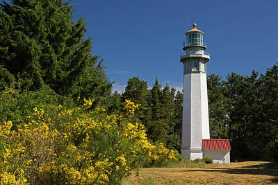 Photograph - Grays Harbor Lighthouse H by Inge Riis McDonald
