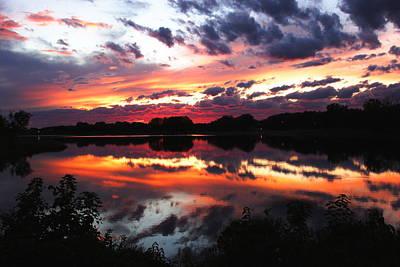 Ending Life Photograph - Gray's Lake Glory by Charley Starnes