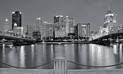 Grayscale By The River 2017 Art Print by Frozen in Time Fine Art Photography
