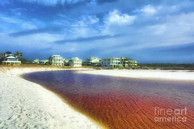 Photograph - Grayton Beach Dreams by Mel Steinhauer