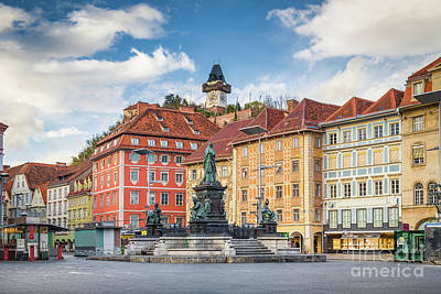 Photograph - Graz by JR Photography