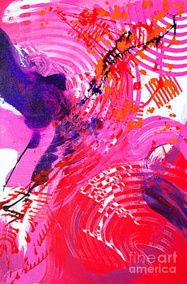Painting - Graze by Expressionistart studio Priscilla Batzell