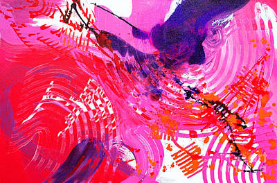 Painting - Graze H by Expressionistart studio Priscilla Batzell