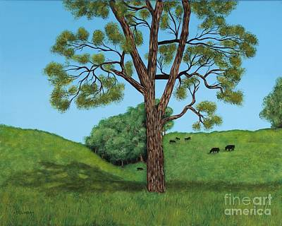 Painting - Grazing by Billinda Brandli DeVillez