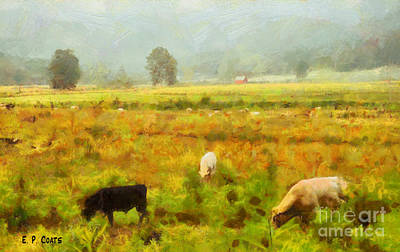 Painting - Grazing by Elizabeth Coats