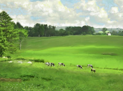 Painting - Grazing by Steven Lester