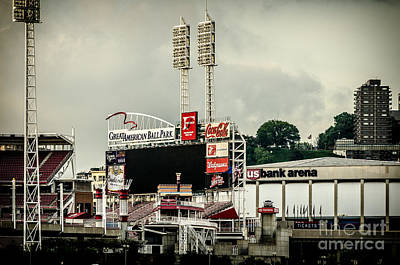 Photograph - Great American Ball Park 2 - Cincinnati by Mary Carol Story