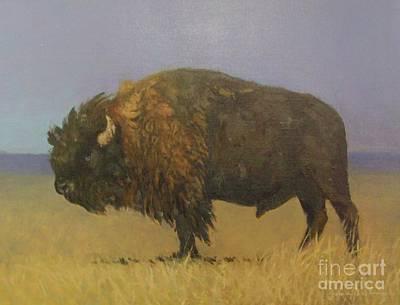 Great American Bison Art Print