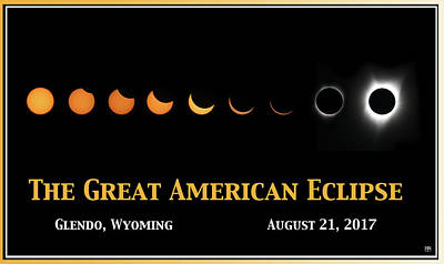 Photograph - Great American Eclipse 1 by John Meader