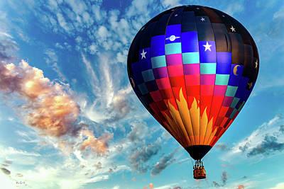 Photograph - Great Balls Of Fire Hot Air Balloon by Bob Orsillo