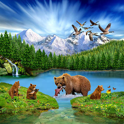 - Great Bear Wilderness by Glenn Holbrook