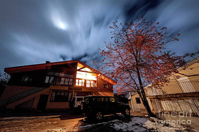 Photograph - Great Beautiful Suburban House by Anna Om