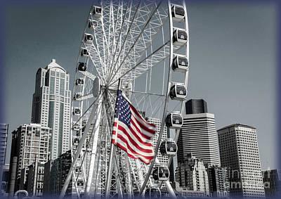 Photograph - Great Big Wheel by Deborah Klubertanz