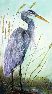Painting - Great Blue Heron by Loretta Luglio