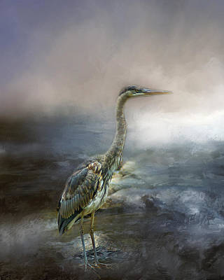 Photograph - Great Blue Heron by TnBackroadsPhotos