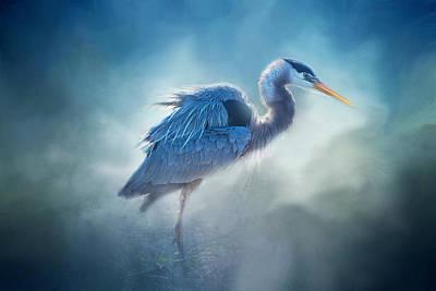 Photograph - Great Blue by Lynn Bauer