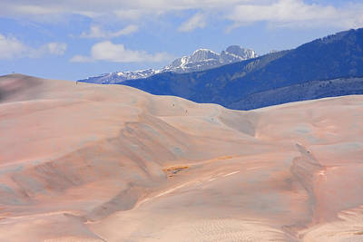 Photograph - Great Colorado Sand Dunes by James BO Insogna