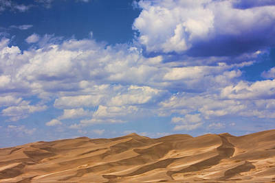 Great Colorado Sand Dunes Mixed View Art Print by James BO  Insogna