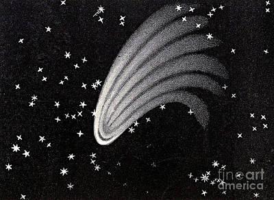Great Comet Of 1744 Art Print