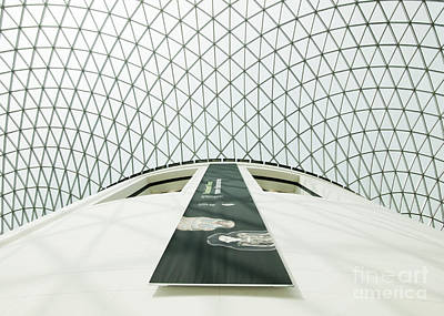 Photograph - Great Court Roof by Chris Dutton