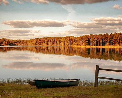 Photograph - Great Day For Canoeing  by Mechala Matthews