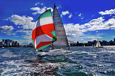 Photograph - Great Day For Sailing By Kaye Menner by Kaye Menner