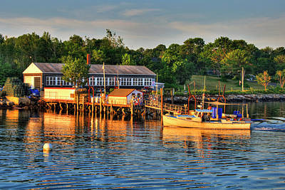 Photograph - Long Island Port, Maine by Joann Vitali