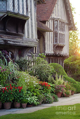 Photograph - Great Dixter House And Gardens At Sunset by Perry Rodriguez
