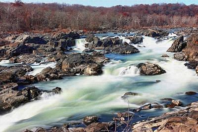 Photograph - Great Falls 11.29.17 by Steve Doris