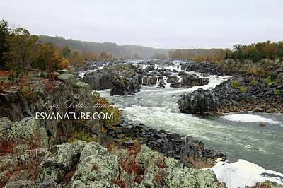 Photograph - Great Falls 9857 by Captain Debbie Ritter