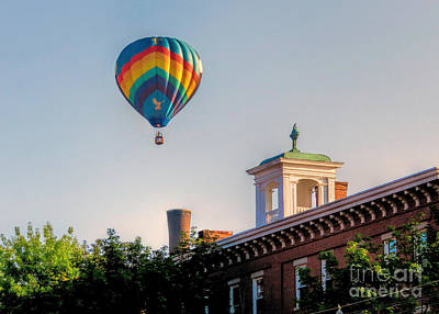 Photograph - Great Falls Balloon Festival Maine  by Janice Drew
