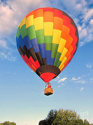 Photograph - Great Falls Balloon Festival In Lewiston And Auburn  by Janice Drew