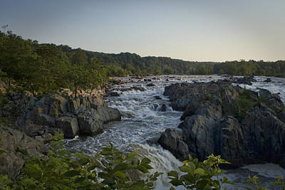 Great Falls Art Print by Christina Durity