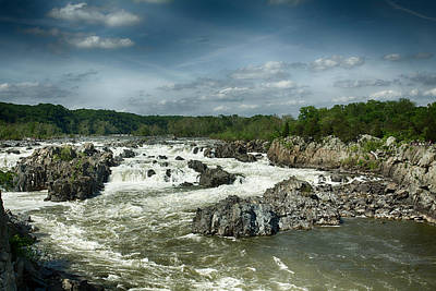 Photograph - Great Falls by Leah Palmer