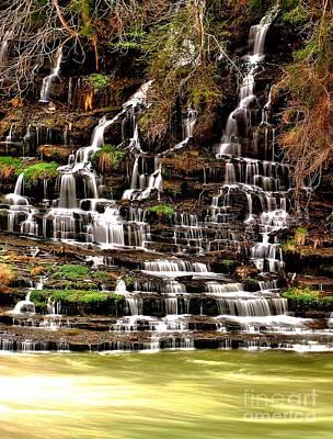 Photograph - Great Falls Of Tennessee by Matthew Winn