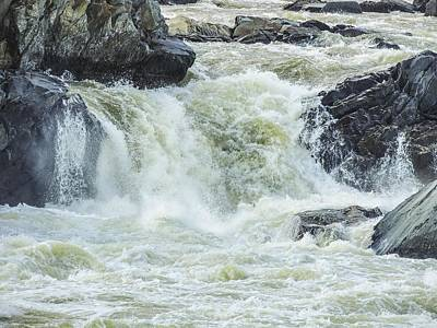 Great Falls Of The Potomac Art Print