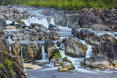 Great Falls Park Photograph - Great Falls Park, Virginia, Usa by Henk Meijer Photography