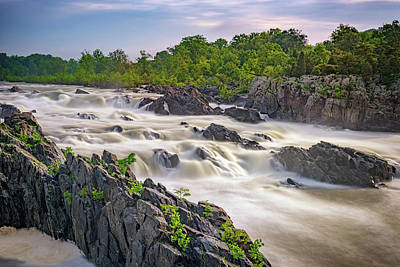 Great Falls Art Print by Rick Berk