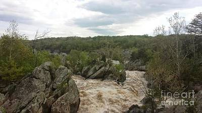 Photograph - Great Falls Virginia by Charlotte Gray