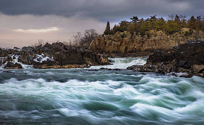 Photograph - Great Falls Virginia by Michael Balen