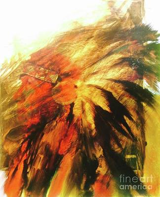 Painting - Great Grandfather Spirit by FeatherStone Studio Julie A Miller