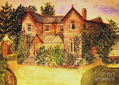 Painting - Great Grandfather's House by Hazel Holland
