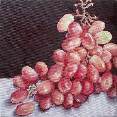 Great Grapes 2 Art Print by Irene Corey
