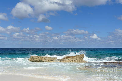 Photograph - Great Guana Cay Beach, Bahamas by Catherine Sherman