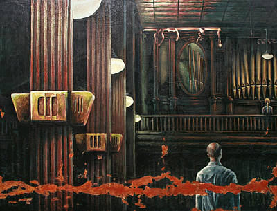 Painti Painting - Great Hall by Marc DAgusto