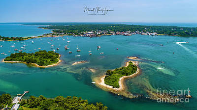 Photograph - Great Harbor by Michael Hughes