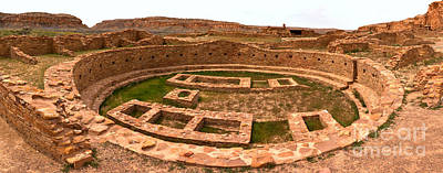 Photograph - Great House Grand Kiva by Adam Jewell