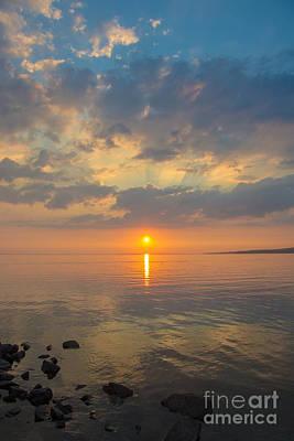 Photograph - Great Lake Sunset by Cheryl Baxter